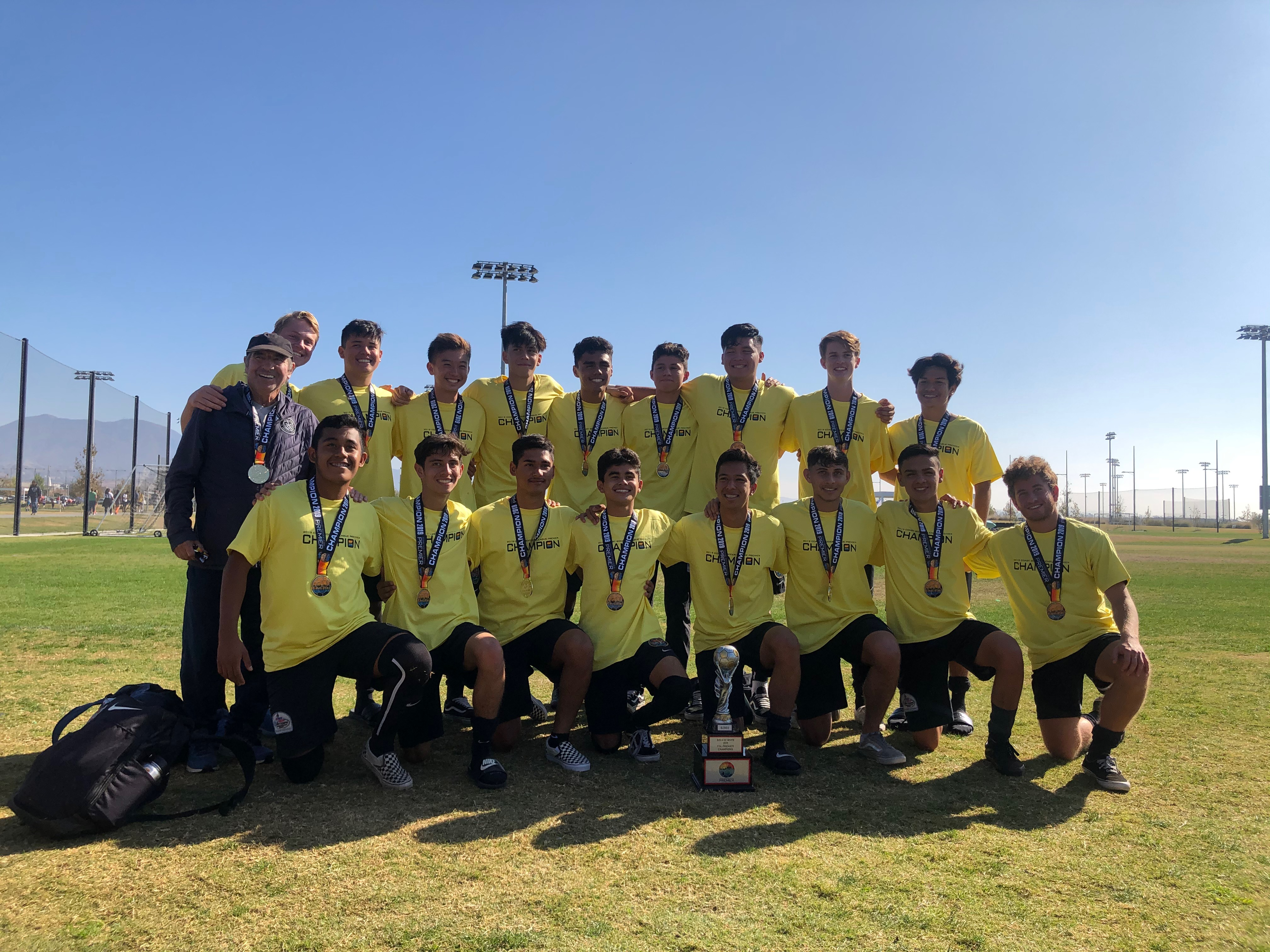 THE BOCA OC 02's ARE THE PREMIER LEAGUE CHAMPIONS!
