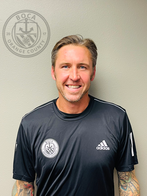 BOCA OC welcomes Danny Califf to an already elite group of coaches!