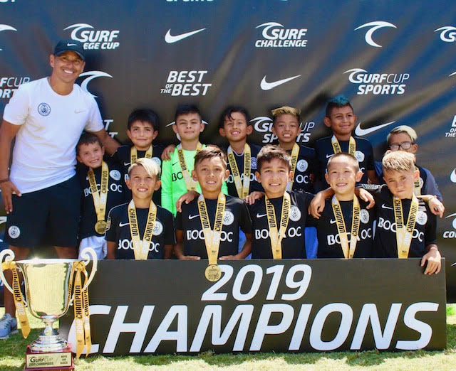 The Boca OC 2010's bring the 2019 Surf Cup Championship home!